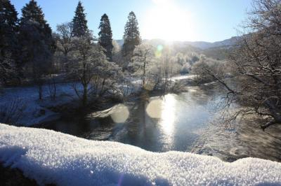 River Balvaig at Strathyre in January